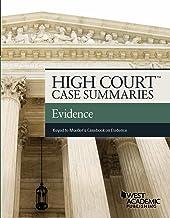 High Court Case Summaries on Evidence Keyed to Mueller