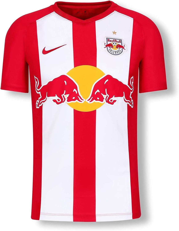 Red Bull Salzburg Home Camiseta 19/20, Rojo Niños Camiseta Manga Corta, FC Salzburg Original Ropa & Accesorios