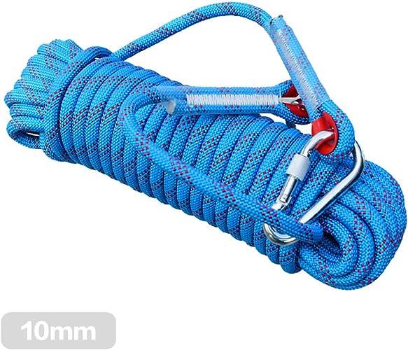 10m 12mm escalade Corde haute résistance Cordon de sécurité de survie Corde