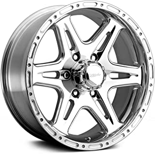 Ultra Wheel 208P Badlands Silver Wheel with Polished Finish (16x8