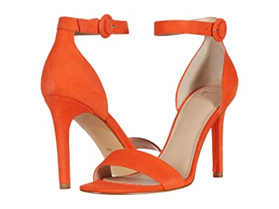 Marc Fisher LTD Kora (Orange Suede) Women
