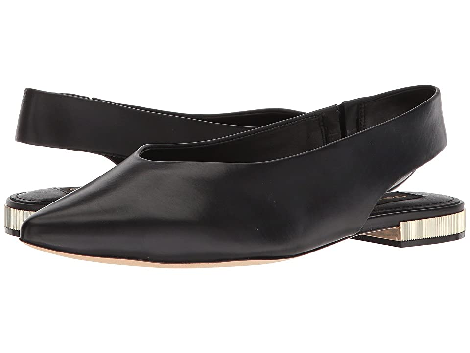 Donna Karan Paige Sling Back (Black) Women