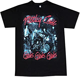 Motley Crue Girls T-Shirt Sweatshirt Long Sleeve Hoodie