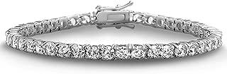 7.25 Inch Cubic Zirconia Tennis Bracelet for Women