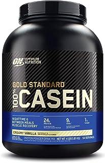Optimum Nutrition Gold Standard 100% Casein Protein Powder - Vanilla, 1.82 Kilograms