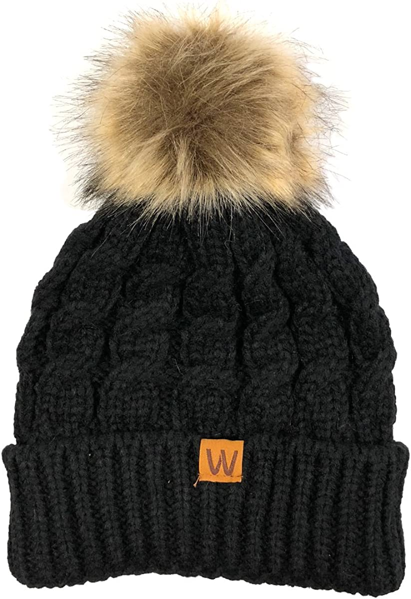 Ranking TOP17 ALLYDREW Very popular Mommy Me Mother Child Winter Soft Warm Beanie wi Knit