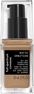 Covergirl Full Spectrum Matte Ambition- All Day Foundation Tan Cool 1