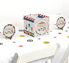 Big Dot of Happiness Carnival Circus - Cirque du Soiree - Birthday Party or Baby Shower Centerpiece and Table Decoration Kit