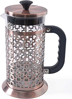 French Press Coffee Maker & Tea Pot – 304 Stainless Steel – 4 Level Filtration System (1L) – N-brand