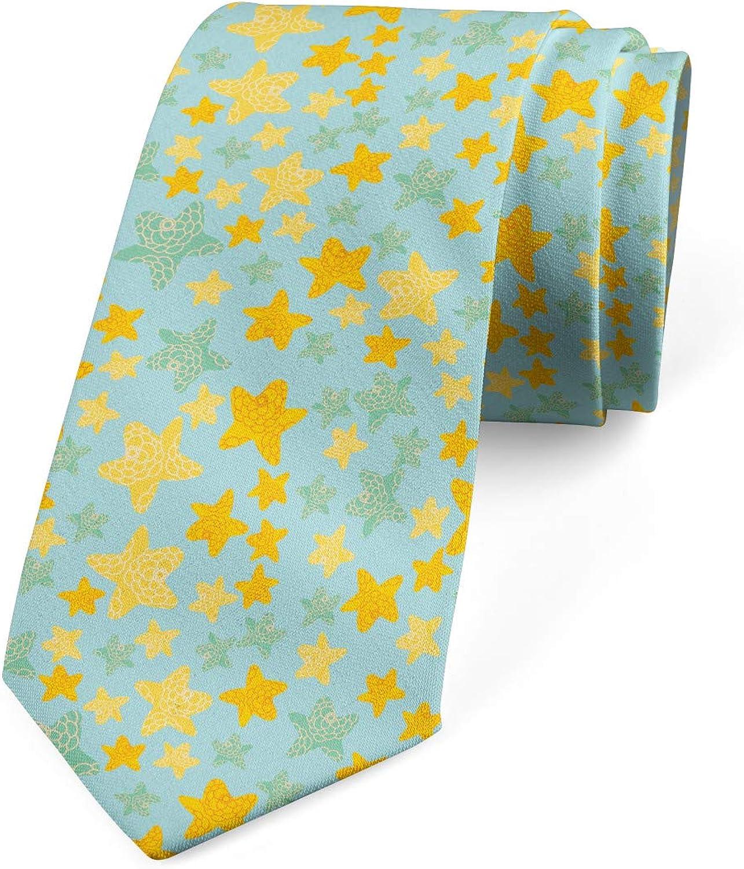 Lunarable Necktie, Motifs Composition, Dress Tie, 3.7