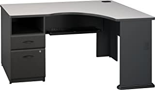 Bush Business Furniture Series A Single Pedestal Corner Desk