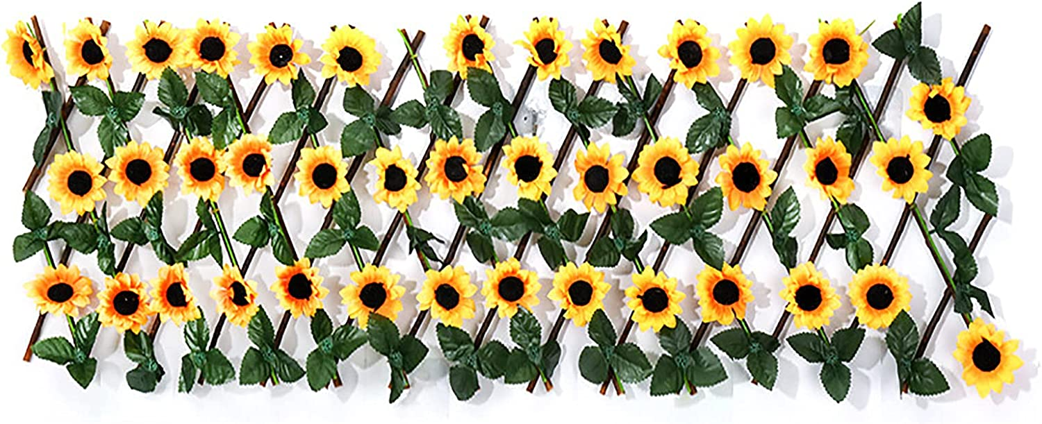ASSR Artificial Sunflower Leaf Faux Expandable It is very popular Ivy P Stretchable New product! New type
