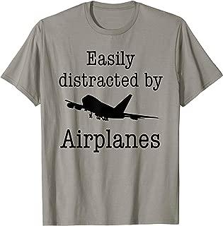 women's airplane shirt