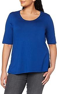 Ulla Popken Große Größen Damen Regular Fit Kurzarm Shirt 658961
