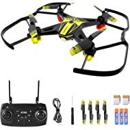 AFUNX Drones for Kids and Beginners, Mini Drone with LED Lights, Altitude Hold, Headless Mode,...