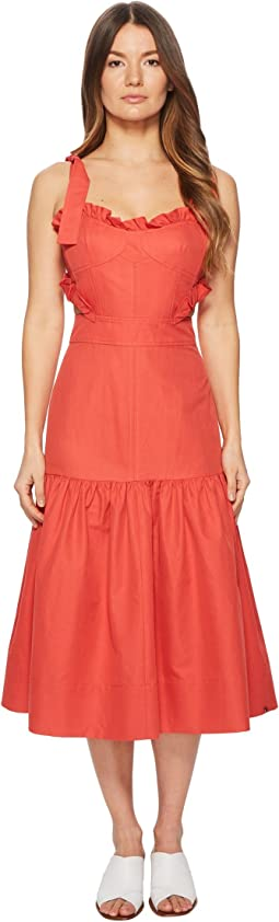 Rebecca Taylor - Sleeveless Cotton Midi Dress