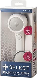 三荣 淋浴喷头 加油选择 白色 個装サイズ:12×8×29cm -