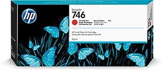 HP 746 Chromatic Red 300-ml Genuine Ink Cartridge (P2V81A) for DesignJet Z6 & Z9+ Large Format Printers