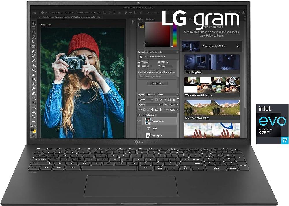 Lg gram intel core i7-1165g7 ram 16gb ddr4 ssd 512gb intel iris xe thunderbolt4 17Z90P-G.AP75D
