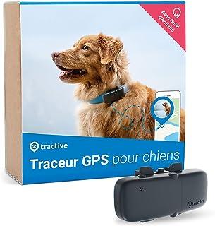 Tractive collier GPS pour chien, Traceur avec portée illimitée, Suivi d'activité,..