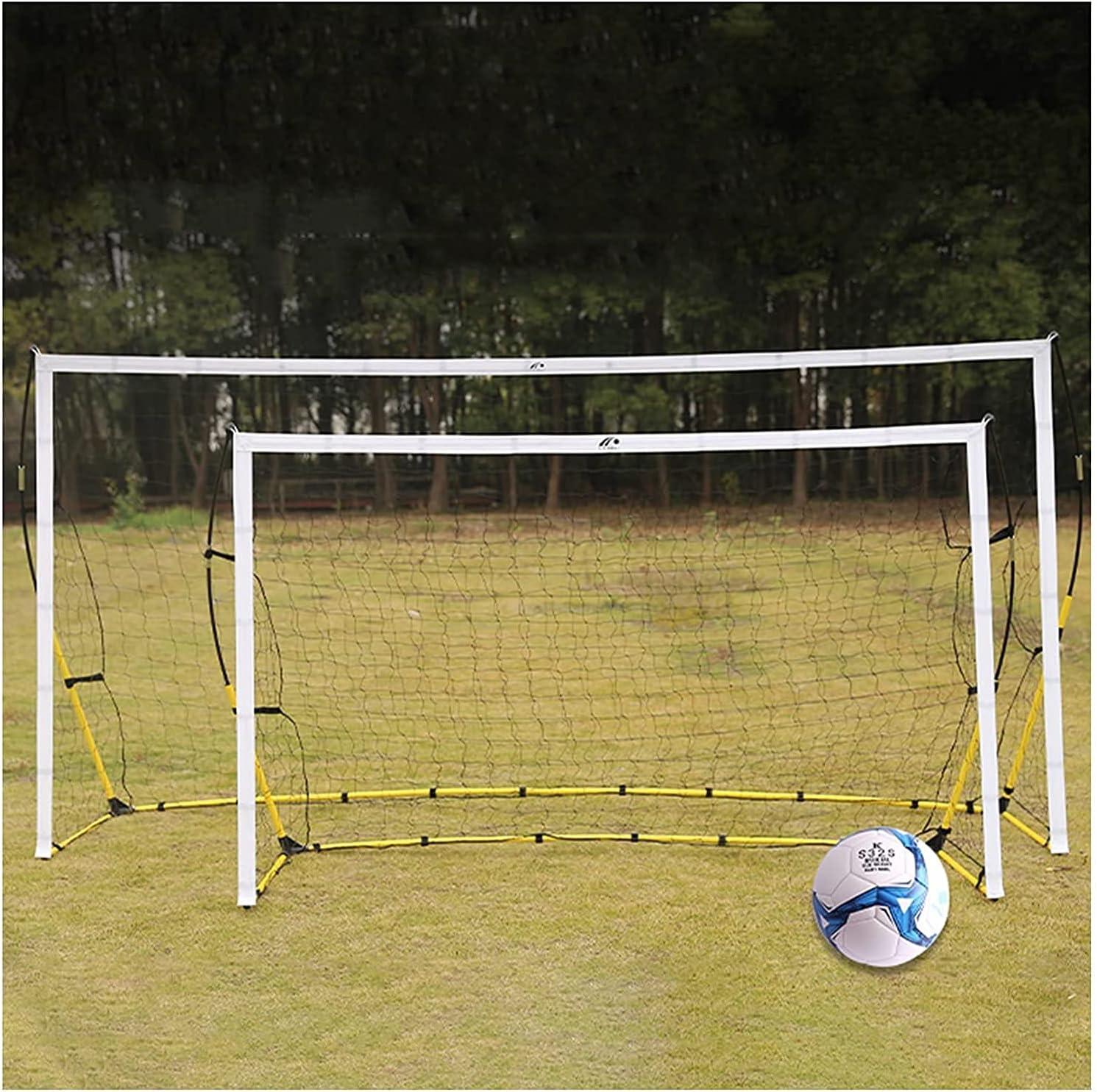 Zheshitech Kids Sacramento Mall Soccer Net Portable Goals 67% OFF of fixed price Foldable