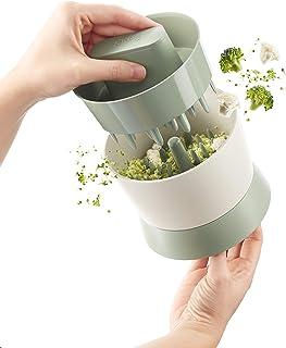 Lekue Veggie Cauliflower Ricer, 7 oz, Green