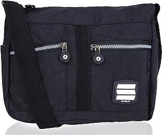 Suvelle Lightweight Lunch Travel Everyday Crossbody Bag Multi Pocket Shoulder Handbag 1951