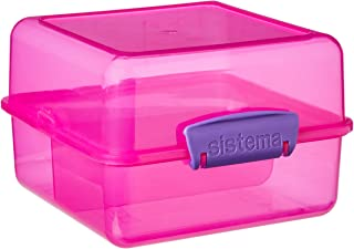 Sistema Lunch Cube, Assorted Colours, 1.4 Litre