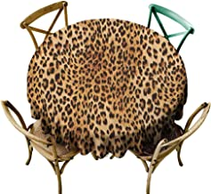 Best round leopard tablecloths Reviews