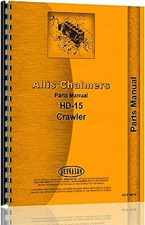 Allis Chalmers HD15 Series Crawler Parts Manual (AC-P-HD15)
