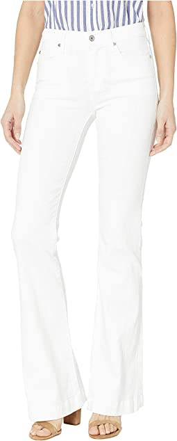 Dojo Jeans in White Runway