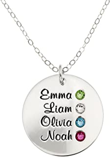 irish birthstone necklace
