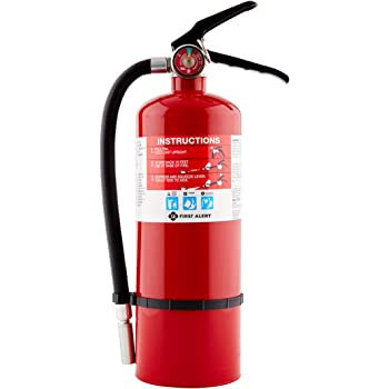 First Alert Fire Extinguisher | Professional FireExtinguisher, Red, 5 lb, PRO5
