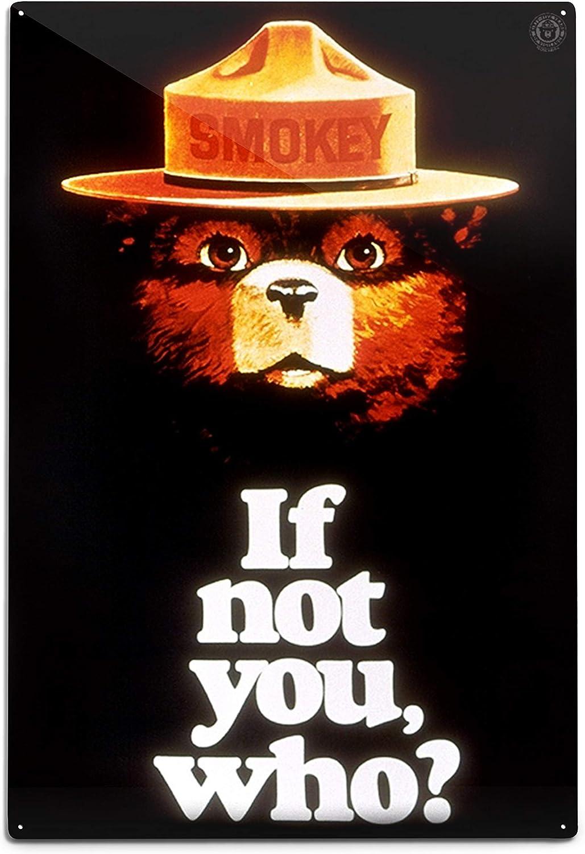 Lantern Sale Press Smokey Bear If Not You Poster Super intense SALE 79789 Vintage Who