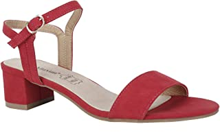 Best red block heel court shoes Reviews