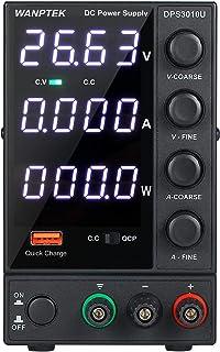 Power Supply, KKmoon DPS3010U 0-30V 0-10A 300W Switching DC Power Supply 4 Digits Display LED High Precision Adjustable Mi...