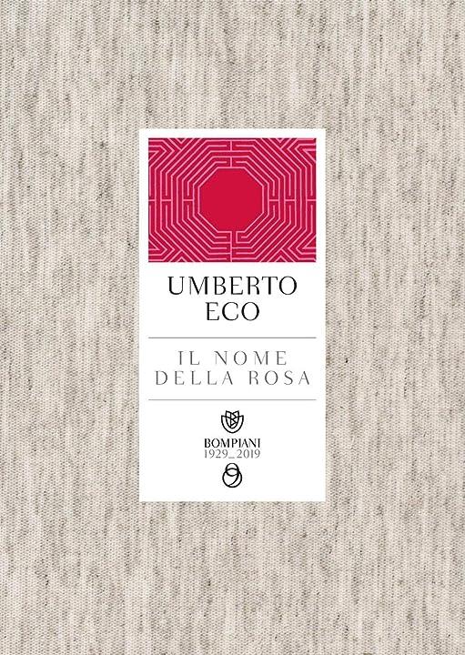 Libri di umberto eco - il nome della rosa (italiano) copertina flessibile 978-8830101180