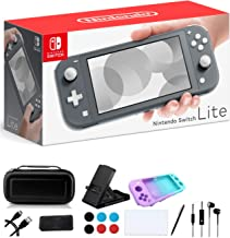 "$319 » Newest Nintendo Switch Lite - 5.5"" Touchscreen Display, Built-in Plus Control Pad, iPuzzle 9-in-1 Carrying Case, Built-in ..."