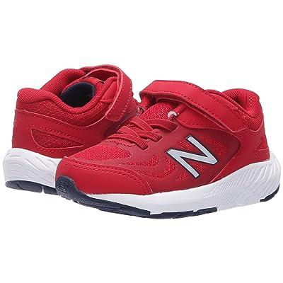 New Balance Kids KV519v1I (Infant/Toddler) (Chilli Pepper/NB Scarlet) Boys Shoes