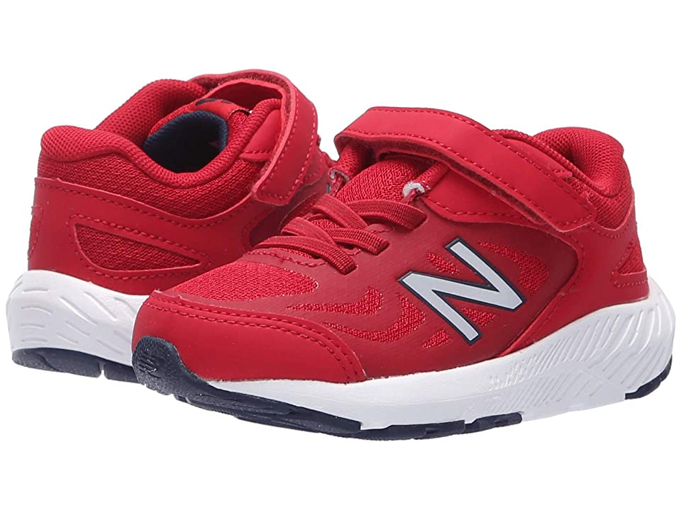 New Balance Kids KV519v1I (Infant/Toddler) (Chilli Pepper/NB Scarlet) Boys Shoes