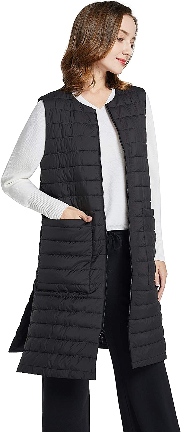 PACIBE Women's Autumn Sales Winter Cotton Quilted Neck Genuine Free Shipping Padded Li Round
