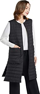 Women's Autumn Winter Cotton Padded Quilted Round Neck...