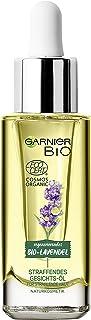 Garnier Bio Straffendes Gesichts-Öl, Anti-Aging Gesichtspflege mit Bio Lavendel, Naturkosmetik für alle Hauttypen, 1 x 30 ml