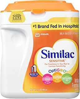 Similac Sensitive Baby Formula - Powder - 34 oz