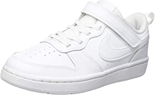 Nike Court Borough Low 2 (PSV), Scarpe da Basket Unisex-Bambini
