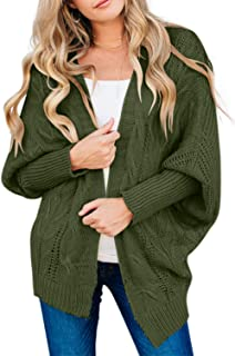 Astylish Women Open Front Long Sleeve Chunky Knit...