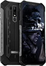 Rugged Cell Phone Unlocked, Ulefone Armor 6E IP68 Waterproof Outdoor Smartphone Android 9 Helio P70 Octa-Core 4GB+64GB 6.2 inch 5000mAh Dual Camera Global Dual 4G Fingerprint+Face Unlocked NFC (Black)