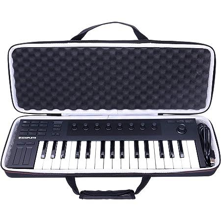 Baritone Case for Baritone Case For Novation 49SL MKIII Controller Keyboard Bag Size 34X14X5-Inch