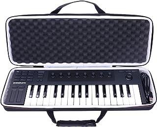LTGEM EVA Hard Case for Native Instruments Komplete Kontrol M32 Controller Keyboard-Travel Protective Carrying Storage Bag
