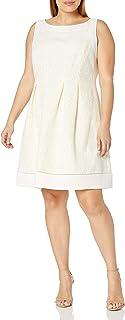 فستان Jessica Howard حريمي بمقاس كبير مع إطار مناسب وواسع